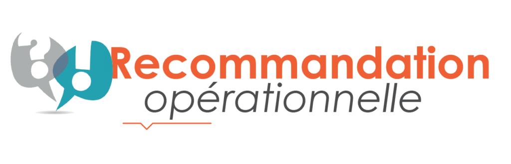 Recommandation Opérationnelle